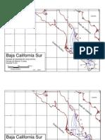 Isoyetas Baja California Sur