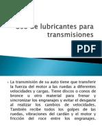 UNIDAD 5 Argel Eduardo Santisbon Uso de Lubricantes Para TransmisionesOK.
