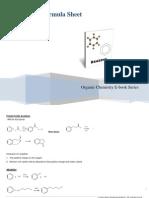 14683660 Organic Chemistry Formula Sheet Benzene Reaction (RePost)