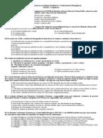 Legislação e Pedagogia - Simulado (64 questões)+gabarito
