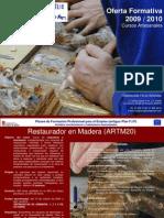 Oferta Formativa Fundación Félix Granda 2009 2010