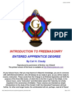 Entered Apprentice Introduction for the young mason