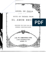 Manuel de Falla - El Amor Brujo (Suite Pour Piano) 1