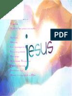 Jesús acrostico