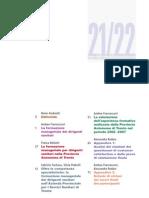 Punto Omega 21-22 - La formazione manageriale dei dirigenti sanitari 2008