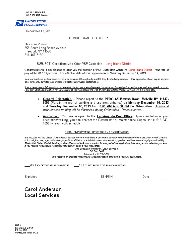 Cover Letter For Usps Job Gallery Cover Letter Ideas