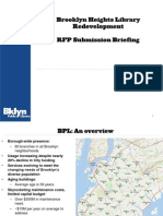 CAC RFP Briefing -Brooklyn Heights Library