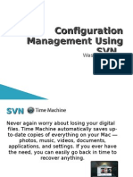 Configuration Management Using SVN
