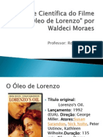 64101376 Analise Cientifica Do Filme O Oleo de Lorenzo