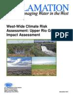 Final Upper Rio Grande Climate Risk Assessment report _12!10!2013