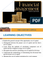 Ch 9-The Cost of Capital by IM Pandey
