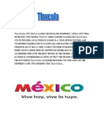 Tlaxcala City Has a Large Cultural Development