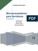 Microprocesadores Para Servidores