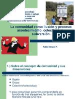 La Ilusion de La Comunidad-pablo Klimpel