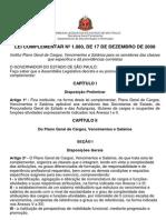 Lei Complementar n.1.080, De 17.12.2008