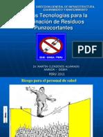 Nuevas Tecnologias Para La Eliminacion de Residuos Punzocortantes-Martin Clendenes
