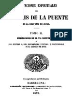 Meditaciones Espirituales-Luis de La Puente-Tomo II