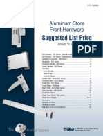 Ilco Storefront Hardware List Price Book 2014
