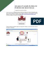 Procedimiento para el vaciado de datos de los REPORTES DE SEGUNDAS.doc