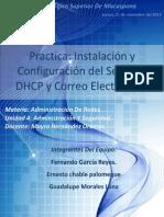 Reporte - Dhcp y Correo