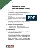 04-01 PROCEDIMIENTO N° 004 - CONTROL DE COMBUSTIBLES PARA UNIDADES VEHICULARES