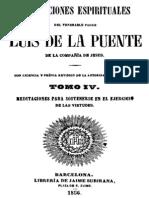 Meditaciones Espirituales-Luis de La Puente-Tomo IV