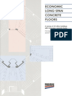 Economic Long Span Concrete Floors, Bca, Uk, 1995. 50p.