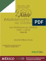 gabinetes presidenciales en 200años