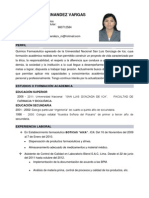 Curriculum Vitae Mariela