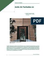 Revestimiento de Fachadas en Madera, A. Mosqueira, Cis-madera, Chile, 2010. 11p.