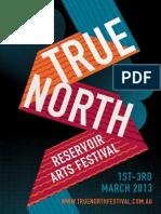 True North 2013 Program