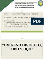 Aguas Expo Od Dbo Dqo