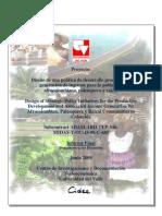 Diseño de una política de desarrollo productivo y generación de ingresos para la población afrocolombiana, palenquera y raizal