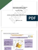 interrelación redes grupos y líneas ECEDU  2013