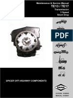 Dana Service Manual TE13-17