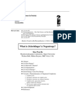 What is Schrodingers Negentropy 14pages