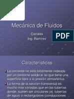 Mecánica de Fluidos canales