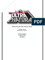 Red Bull Ultra Natural Marketing Plan