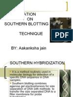 Southern Hybridization ppt