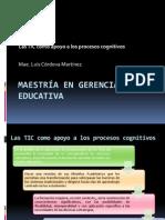 Las TIC Como Apoyo a Los Procesos Cognitivos