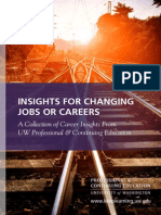 Insights for Changing Jobs or Careers