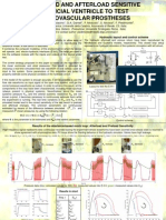 Poster IFAC 2005 Conf a Preload and Afterload Sensitive Artificial Ventricle for Testing Cardiovascular Prostheses