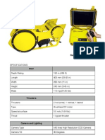 Pobletech Roboteknik i100 Specifications 08.27.09