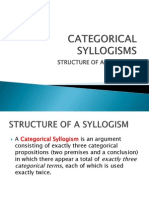 Categorical Syllogisms