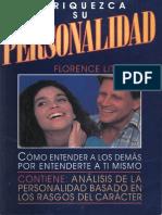 Florence Littauer Enriquezca Su Personalidad