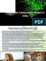 River Water Conservation Project in India PPT