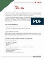 MBA Em Desenvolvimento de Aplicacoes JAVA SOA