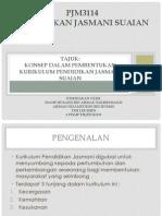 PJM3114 Konsep Dalam Pembentukan Kurikulum PJ Suaian