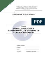 EN02 Diseno, Operacion y Mantenimiento de Sistema de Control Electrico