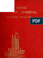 Ricahrd Temple - The House of Commons, 1899